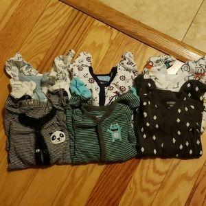 Newborn sleeper onesies